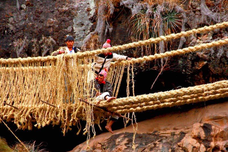Qeswachaka Inca Bridge