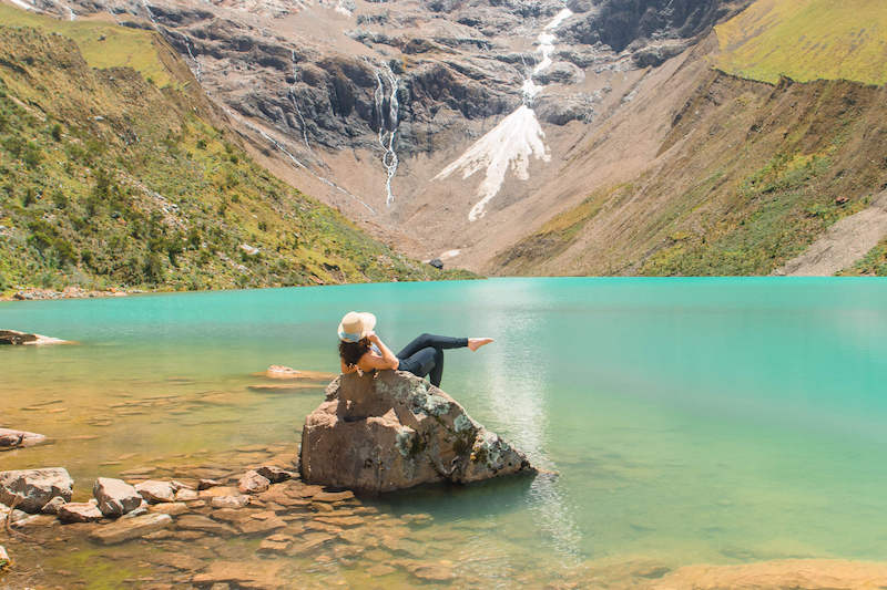 Humantay Lake, Laguna Humantay, Rainbow Mountain or Humantay Lake Trek