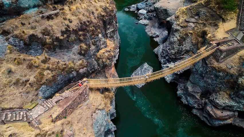 Qeswachaka Inca Bridge Tour
